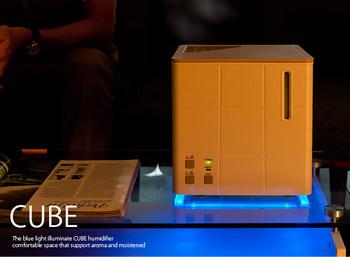 スチーム式アロマ加湿器 CUBE〔キューブ〕cube22.jpg